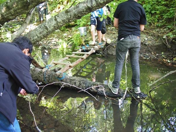An old bridge is found